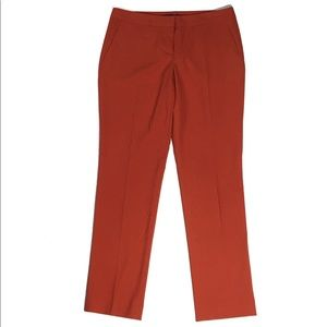 Vince Camuto Orange Stretch Slim Leg Pants